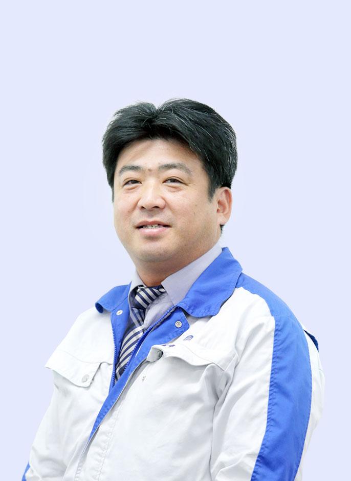 工事部 工事所長 一級建築士・1級建築施工管理技士 田中 敏也